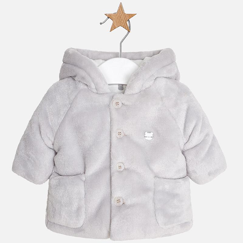 Mayoral 2400-044 Μπουφάν γουνάκι για μωρό αγόρι a2d57599a03