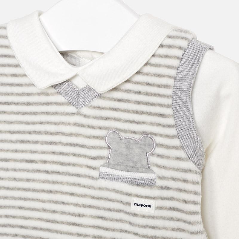 0f449518bcb Mayoral 2602 Φορμάκι παντελόνι γιλέκο για μωρό αγόρι