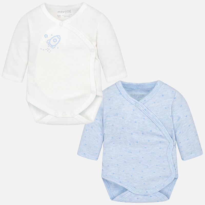 c0d2a55427c Mayoral 2702 Φορμάκι παντελόνι γιλέκο για μωρό αγόρι Σετ 2 κορμάκια μακριά  για μωρό αγόρι