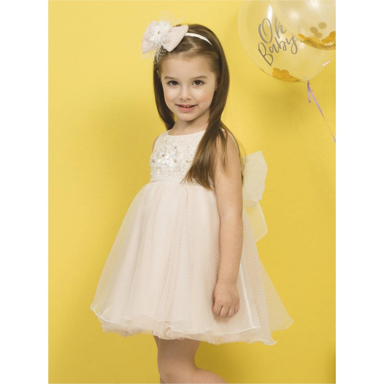ea852e3350fe Βαπτιστικό φόρεμα Mi Chiamo Κ4288-Π