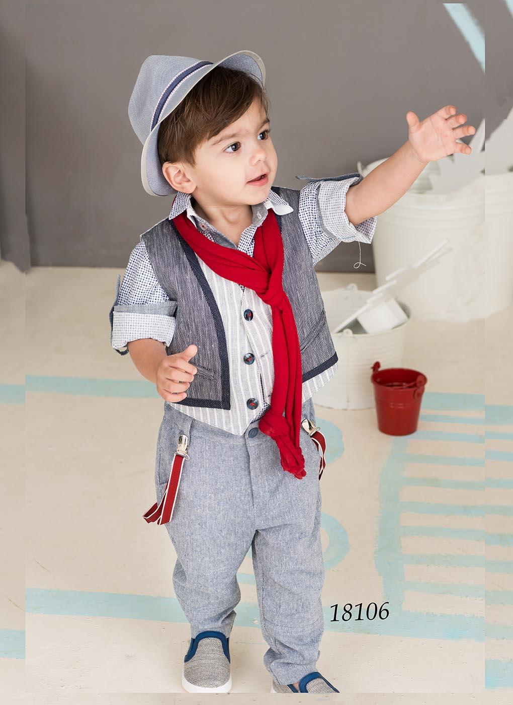 284cba833957 κουστούμι βάπτισης Bonito baby 18106