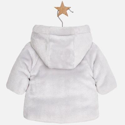 Mayoral 2400-044 Μπουφάν γουνάκι για μωρό αγόρι 105dde3b96c