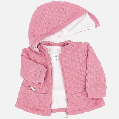 Mayoral 2456 Ζακέτα φούτερ ενισχυμένο για μωρό κορίτσι 58b51dbd3bd