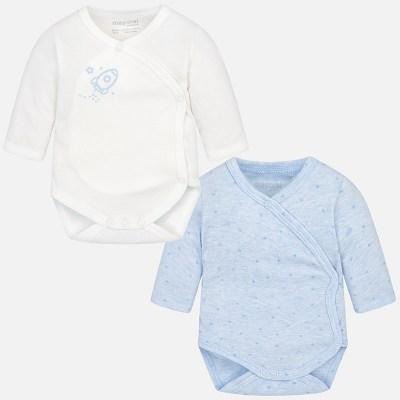 3186f0c9059 Mayoral 2702 Φορμάκι παντελόνι γιλέκο για μωρό αγόρι Σετ 2 κορμάκια μακριά  για μωρό αγόρι