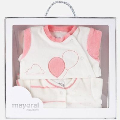 Mayoral 2736 Σετ 2 πιτζαμάκια βελουτέ για μωρό 282f1b0ad2c