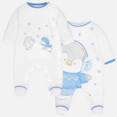 bb5c06a92da Mayoral 2740 Σετ 2 πιτζαμάκια ιντερλοκ για μωρό αγόρι