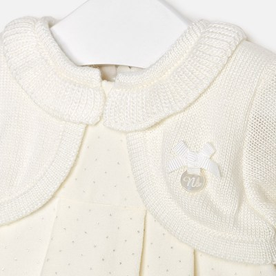 Mayoral 2838 Φόρεμα πουά με ζακέτα για μωρό κορίτσι a43cad64858